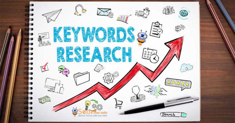Ricerca parole chiave (Keywords) per indicizzazione sito web