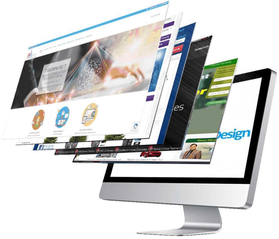 Realizzazione professionale di siti internet